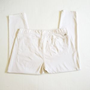 Lucky Brand Lolita Skinny Jeans Sz 16/33 White